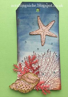A Crafting Niche: By The Tide/Seashore Tag