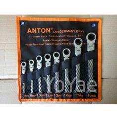 ของดี  Yoyae ชุดประแจปากตายแหวนข้างพับได้ 8-19mm. ANTON 8 ตัว(...)  ราคาเพียง  896 บาท  เท่านั้น คุณสมบัติ มีดังนี้ ใช้งานหนักได้ ทนทาน ไม่แตกหักง่าย สามารถพกพาได้สะดวก มีขนาดที่เหมาะสม ทำจากวัสดุที่แข็งแรง มีคุณภาพ