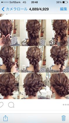 summer wedding hairstyles for medium length hair frisuren haare hair hair long hair short Up Dos For Medium Hair, Medium Hair Styles, Curly Hair Styles, Updos For Medium Length Hair Tutorial, Curly Updos For Medium Hair, Easy Updos For Long Hair, Curly Short, Prom Hair Medium, Curly Hair Easy Updo
