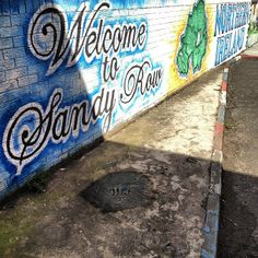 See 28 photos and 1 tip from 58 visitors to Sandy Row. Belfast City, Northern Ireland, Four Square, Murals, The Row, Scotland, Northern Ireland County, Wall Paintings, Mural Painting
