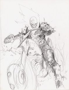 ghost rider artwork sketch - Google Search