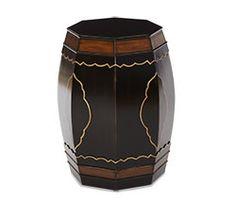 Zebra Box on Stand Table | Discoveries - | Michael Amini Furniture Designs | amini.com