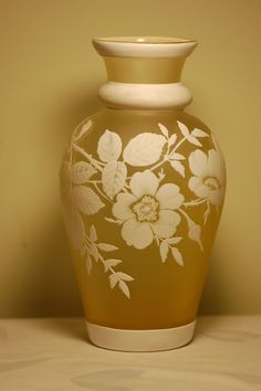 Thomas Webb English Cameo Glass Vase     c:1900