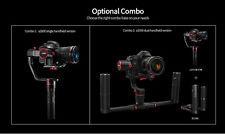 Feiyu a2000 Newest 3-Axis Gimbal DSLR Cameras Stabilizer Dual handheld grip