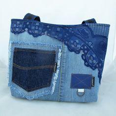 RAPSODY IN BLUE * JEANS BAG no.20 * PARROT® / Zboží prodejce PARROT | Fler.cz
