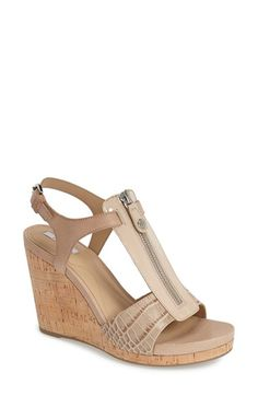 Geox+'Victory+11'+Cork+Wedge+Sandal+(Women)+available+at+#Nordstrom