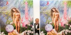 "Life Ball 2014: ""I am Adam, I am Eva, I am me."" Abstract, Painting, Life, Art, Summary, Art Background, Painting Art, Kunst, Paintings"