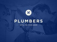 Plumbers Logo Mockup - Learning Knockout Techniques on Behance