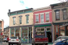 cooper street, aspen, colorado Aspen Colorado, Roads, Westerns, Sweet Home, Street View, Building, Road Routes, House Beautiful, Buildings