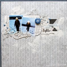 papirdesign-blogg Scrap, Polaroid Film, Winter, Winter Time, Winter Fashion