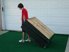 "10"" Prep 8' Portable Pitching Mound"