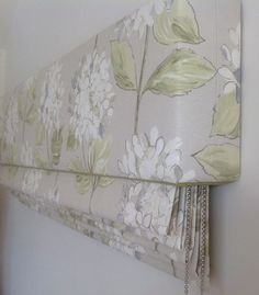 Roman with pelmet by Alison Mills Interiors