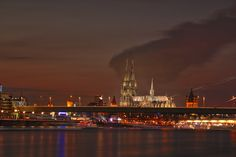 Cologne Cathedral at Night