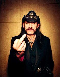 Lemmy Kilmister~ Motorhead. http://www.pinterest.com/TheHitman14/u-r-1-celebrity-birds/