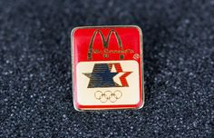 Mcdonalds Vintage Olympic Pin by MichaelPMoriarty on Etsy