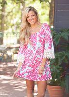 Beautiful Disaster Lace Embellished Dress
