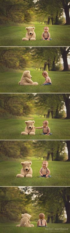 Baby Teddy Bear Photos - so adorable!