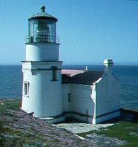 Point Conception Light.  Santa Barbara.California.EE.UU.