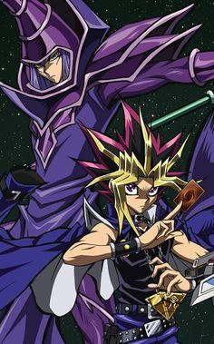 Yami Yugi and Dark Magician