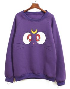 Sailor Moon Luna sweatshirt