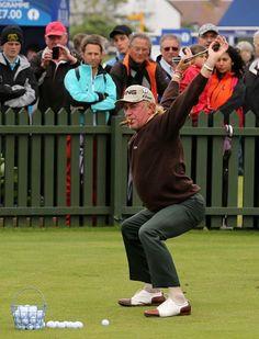 Miguel Angel Jimenez, Stretch, Miguel Angel Jimenez: The Most Interesting Golfer Photos | GOLF.com