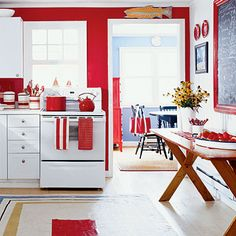 Coastal Colors: Red, White, u0026 Blue