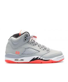 cf8b224d159b Nike Air Jordan 5 Retro Gg Gs Hot Lava Wolf Grey Black Hot Lava White Outlet
