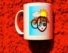 Asheville Diva Doodle Divas Coffee Mug  11 oz by DoodleDivas, $15.00