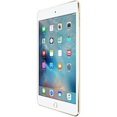 Apple iPad mini 4 16 GB Tablet - 7.9 - Retina Display - Wireless LAN - Apple A8 Dual-core (2 Core) 1.50 GHz - Gold - iOS 9 - Slate - 2048 x 1536 Multi-touch Screen 4:3 Display - Bluetooth - Imagination Technologies PowerVR GX6450 Graphics - Lightning