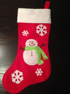 Cute handmade Christmas Stocking