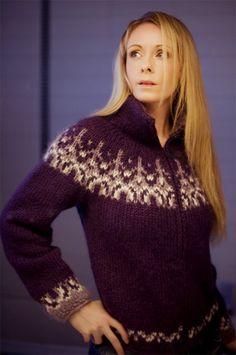 Handmade sweater by Rebekka Guðleifsdóttir