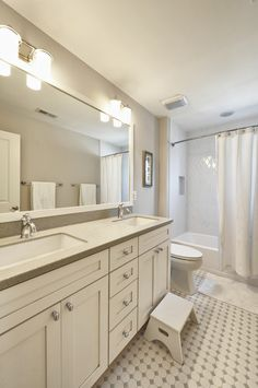 Marvelous Merely Chic Bathroom Tile Layout Ideas. Tile Is Often One Of The Most Pre