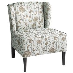 Annie Wing Chair - Blue  (I just LOVE this chair & it's even prettier in person!!)