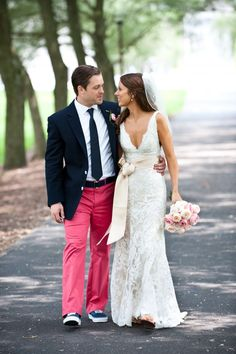 Styling Pink Grooms