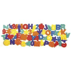 Kid friendly paint sponges for all types of art projects. Set contains 60 pieces in a variety of shapes and objects.