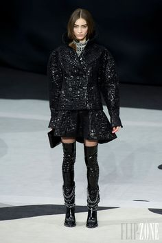 #Chanel Fall/Winter 2013-2014 RTW FW  #Trend #Sleeves