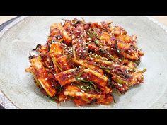 Korean Dishes, Korean Food, K Food, Asian Recipes, Ethnic Recipes, Kimchi, Ratatouille, Bacon, Pork