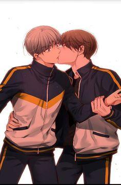 Manhwa Manga, Manga Anime, A Guy Like You, Gay Aesthetic, Bts Memes Hilarious, Cute Gay Couples, Manga Love, Shounen Ai, Fujoshi
