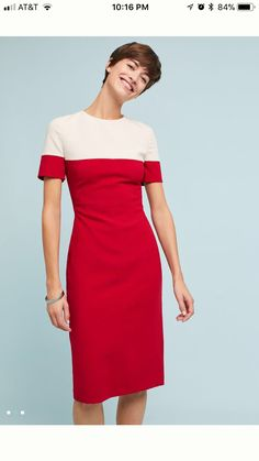 3f93034e7b41 Colorblock Sheath Dress by Black Halo