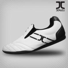 JCalicu KICKS MK1 - White with Black Mk1, Taekwondo, Martial Arts, Adidas Sneakers, Kicks, Training, Shoes, Black, Fashion