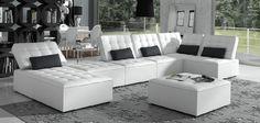 nómada space in white #gamamobel #gamamobelsofa #sofa www.gamamobel.com Gamamobel