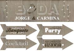 #cartel_señalizador_boda #ideas_boda #cartel_boda  #escarabat
