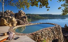 This Newly Renovated Safari Lodge in Zimbabwe is the Stuff of Vacation Dreams | Singita's luxe lodge in Zimbabwe has a brand-new look.