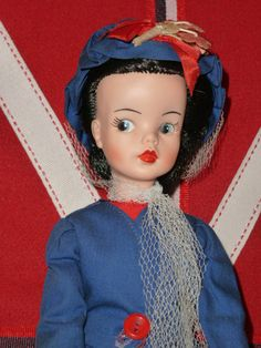 VINYL MARY POPPINS DOLL 1967 BY RELIABLE CANADA