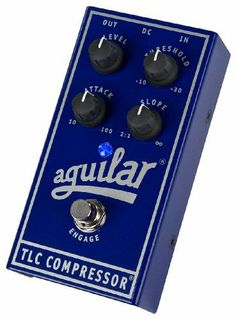 Aguilar TLC Bass Compression Effect Pedal by Aguilar. $199.00. Save 26% Off!