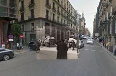 El Madrid de la Guerra Civil y el actual, unidos en Google Street (FOTOS)