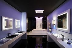 black glossy ceiling - Google-haku