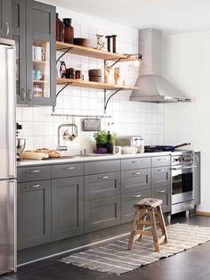 gråa kök