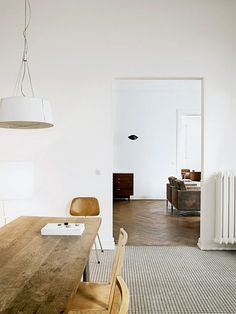 Simple, functional, minimalist, tranquil.
