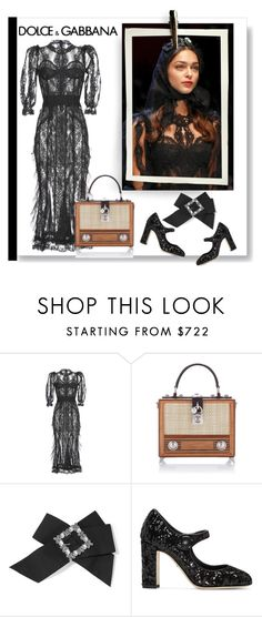 """""""bows and jabots"""" by fl4u ❤ liked on Polyvore featuring Dolce&Gabbana"""